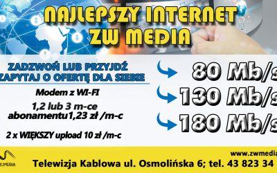 Najlepszy internet ZW Media